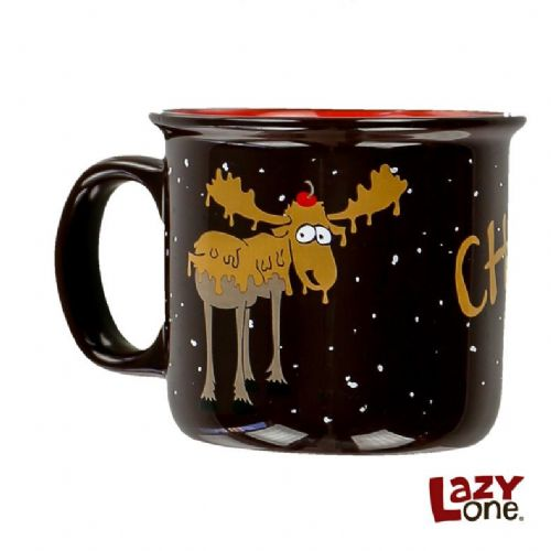Chocolate Moose Ceramic Mug | LazyOne®